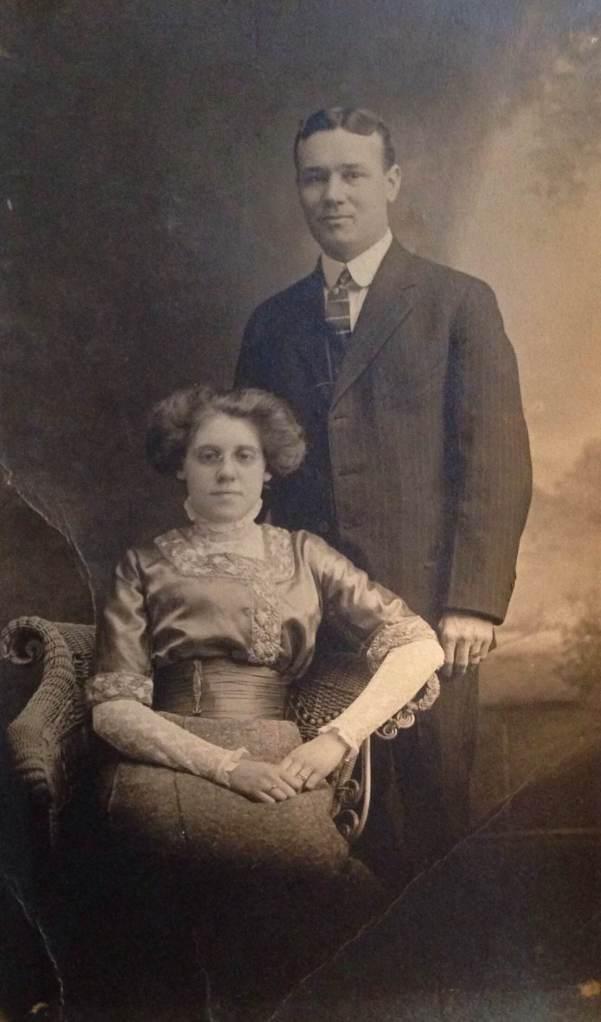 vintage providence couple