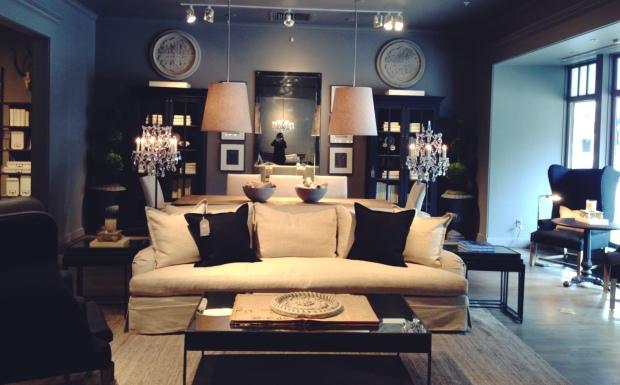 Restoration Hardware Living Room