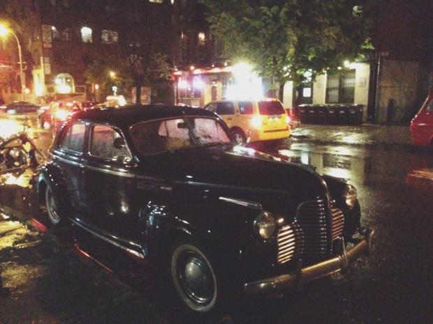 nyc vintage car