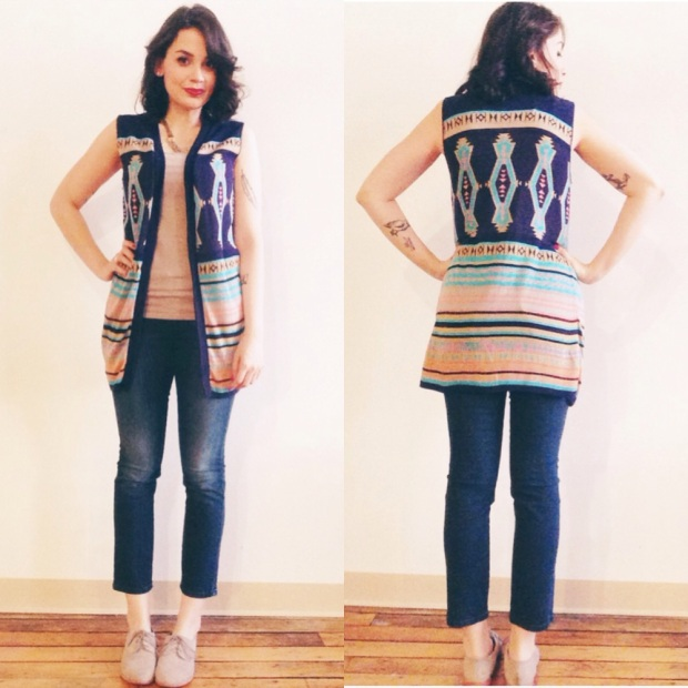 tribal sweater_ olivia
