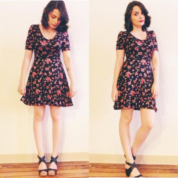 olivia flower dress