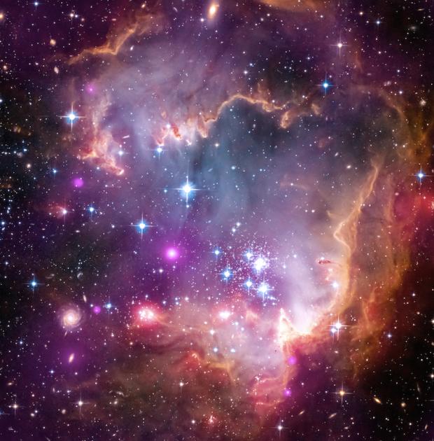 hubble telescope images_ winter moon_ 1