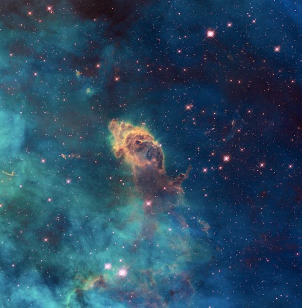 hubble telescope images_ winter moon_ 4