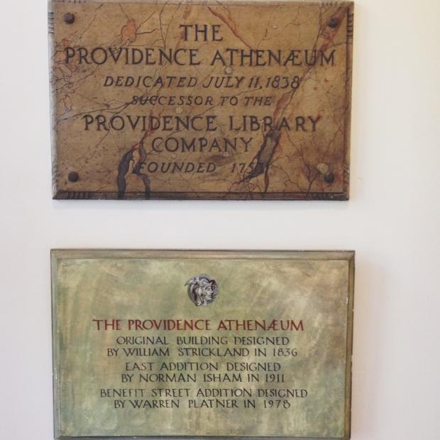 pvd athenaeum