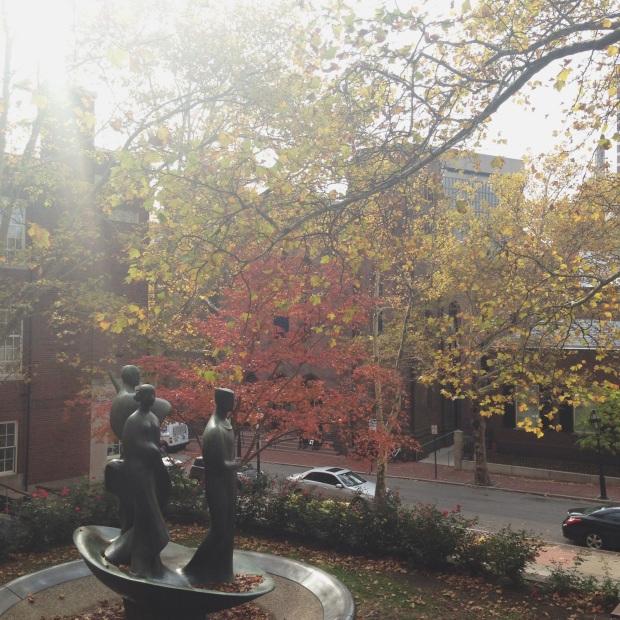 east side fall scene 2