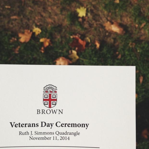 veterans day brown